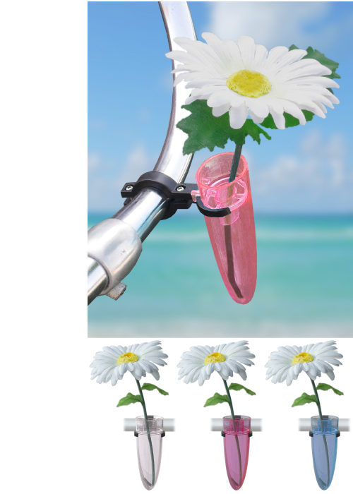 Skye Bicycle Bell Swell Pink Flowers