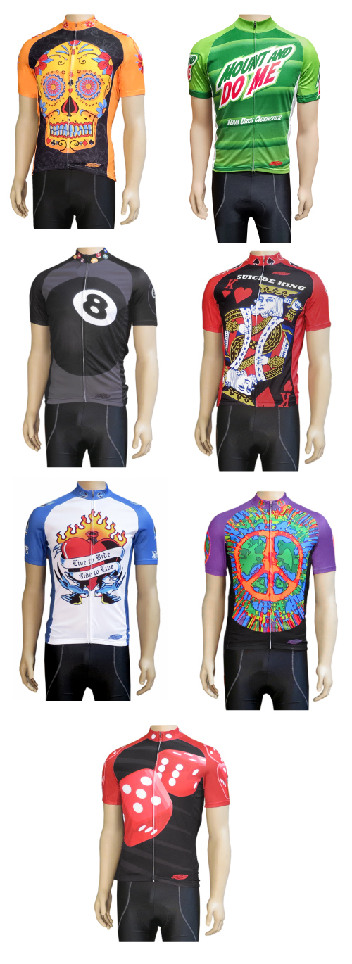 Clean Motion Cycling Jerseys